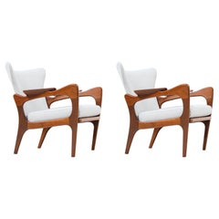 Adrian Pearsall Model 2291-C Lounge Chairs for Craft Associates
