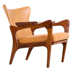 Adrian Pearsall Model 2291-C Wingback Chair for Craft Associates