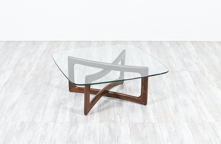 Mid-Century Modern Adrian Pearsall Model 2452-T36 Coffee Table for Craft Associates For Sale