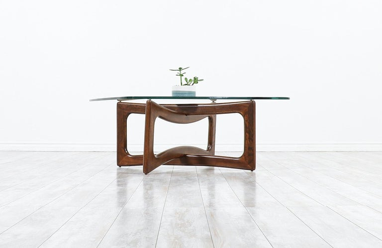 American Adrian Pearsall Model 2452-T36 Coffee Table for Craft Associates For Sale