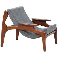 Adrian Pearsall Model 804-C Sling Chair for Craft Associates