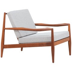 Adrian Pearsall Model 843-C Walnut Lounge Chair for Craft Associates
