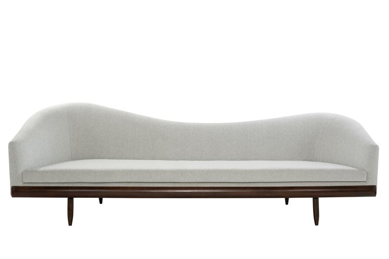 Adrian Pearsall Oasis Sofa, circa 1950s For Sale 5
