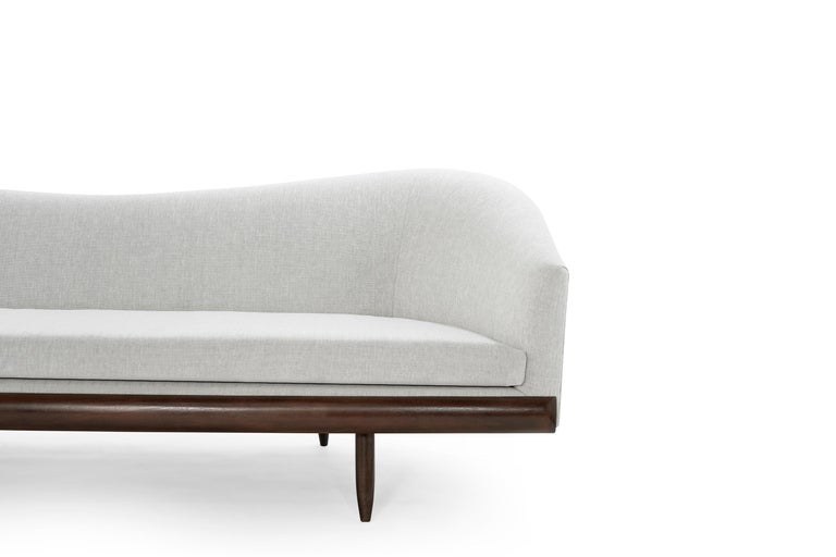 Adrian Pearsall Oasis Sofa, circa 1950s For Sale 1