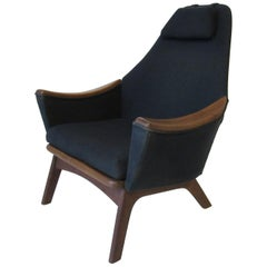 Adrian Pearsall Papa Bear Styled Lounge Chair