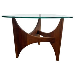 Adrian Pearsall Sculptural Mid-Century Modern Guitar Pick End Table