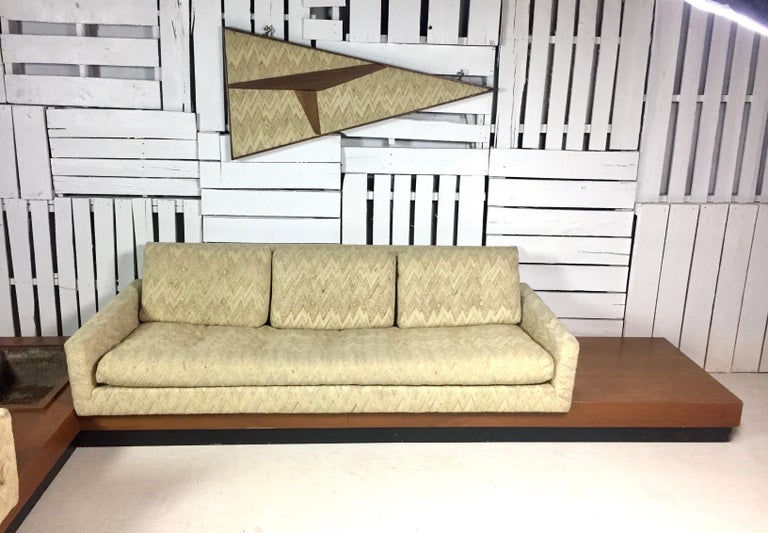 Mid-Century Modern Adrian Pearsall Sectional Sofa For Sale