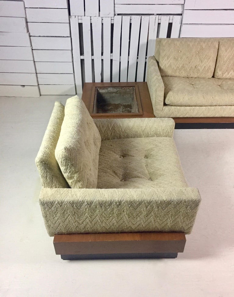 American Adrian Pearsall Sectional Sofa For Sale