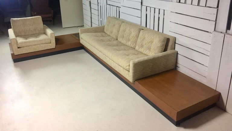 Mid-20th Century Adrian Pearsall Sectional Sofa For Sale
