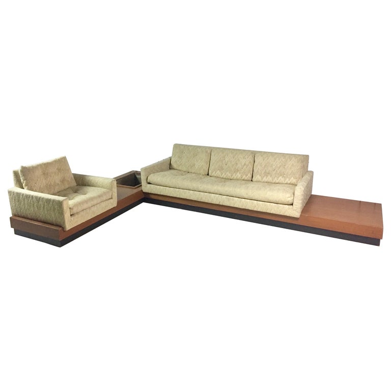 Adrian Pearsall Sectional Sofa For Sale