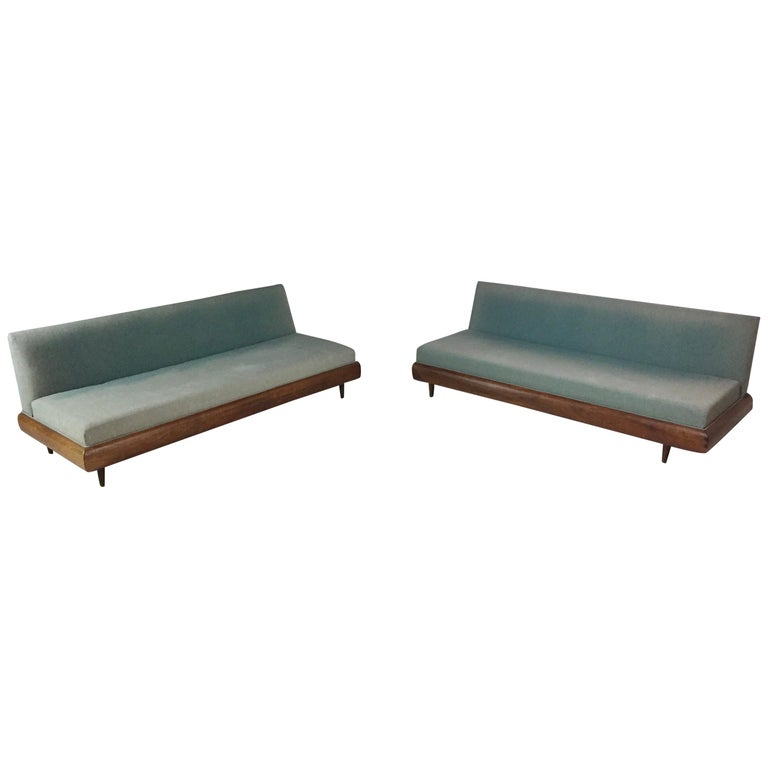 Adrian Pearsall Signed Craft Associates 2-PC Sectional Sofa 2069-LR
