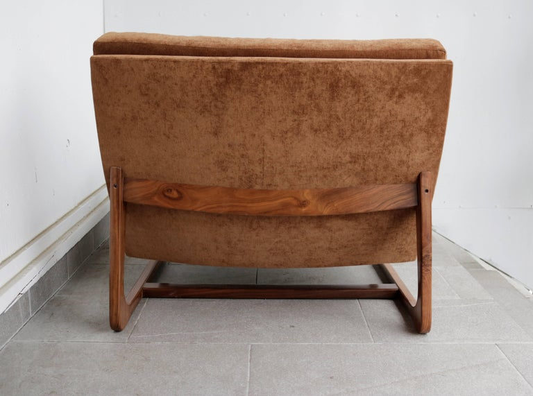 Adrian Pearsall Slipper Chair In Excellent Condition For Sale In Los Angeles, CA