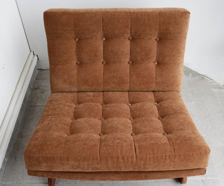 20th Century Adrian Pearsall Slipper Chair For Sale