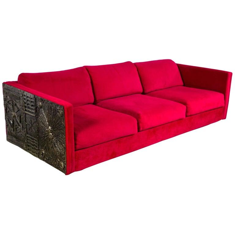 Astonishing Adrian Pearsall Sofa Brutalist At 1Stdibs Short Links Chair Design For Home Short Linksinfo