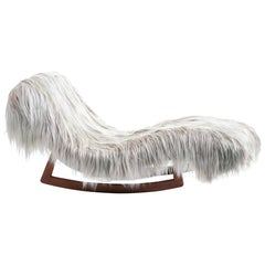 Mid-Century Modern Chaise Longues