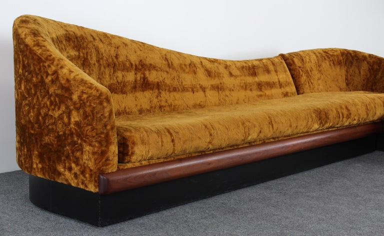 American Adrian Pearsall Two-Part Sofa for Craft Associates, 1950s