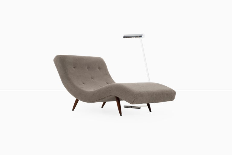 Late 20th Century Adrian Pearsall Wave Chaise For Sale