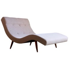 Adrian Pearsall Wave Chaise Longue Daybed for Craft Associates, circa 1960s