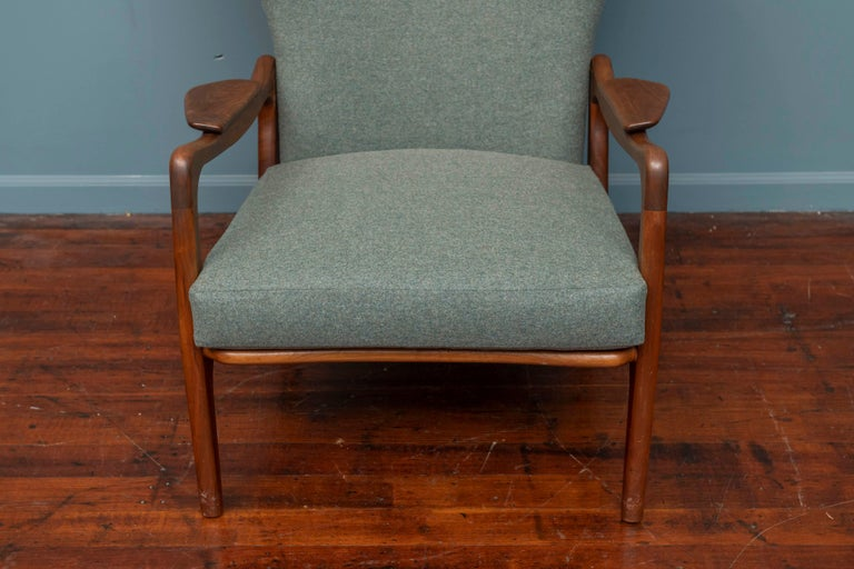 Mid-Century Modern Adrian Pearsall Wingback Lounge Chair For Sale
