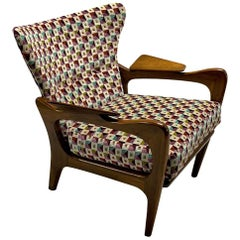 Adrian Pearsall Wingback Lounge Chair Model 2291-C