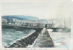 Paquis jetty, Geneva