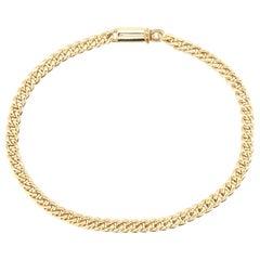 Adriano Chimento 18 Karat Yellow Gold Link Bracelet
