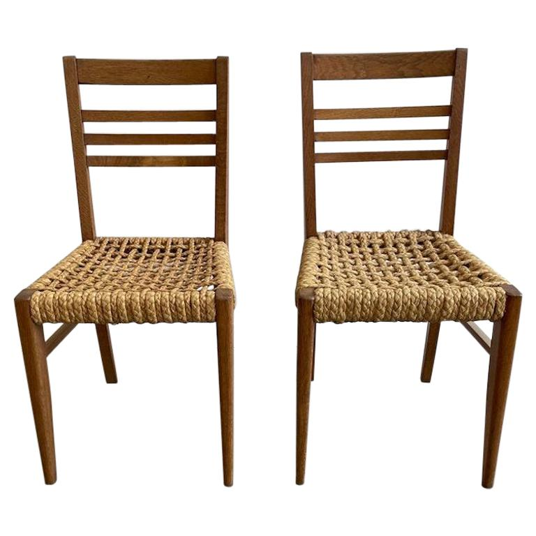 Adrien Audoux and Frida Minet Rope Accent Chairs