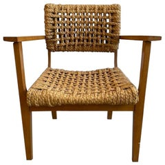 Adrien Audoux and Frida Minet Rope Lounge Chair