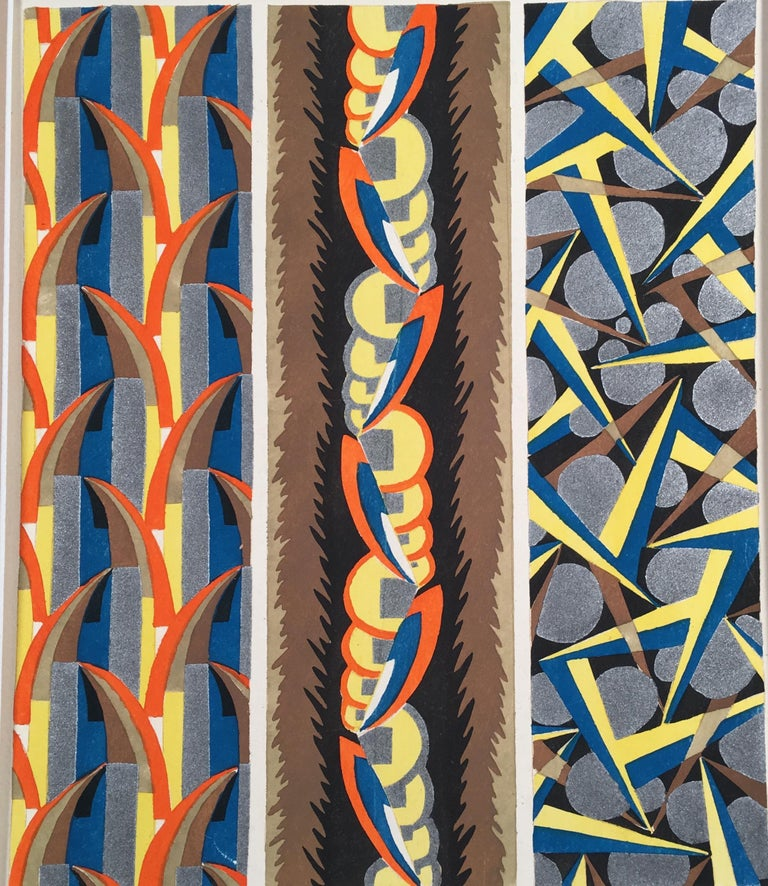 Adrien-Jacques Garcelon Abstract Print - Inspirations Plate 7