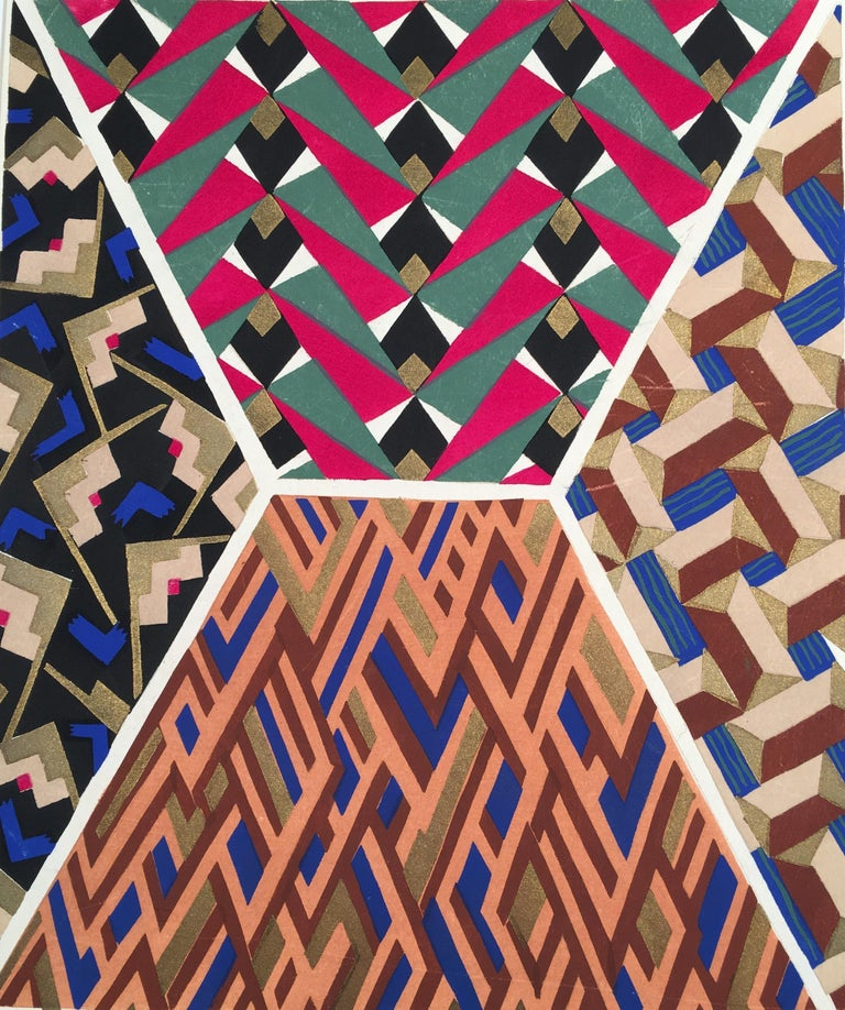Adrien-Jacques Garcelon Abstract Print - Inspirations Plate17