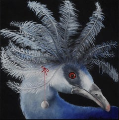 Endangered: Western Crowned Pigeon from New Guinea.