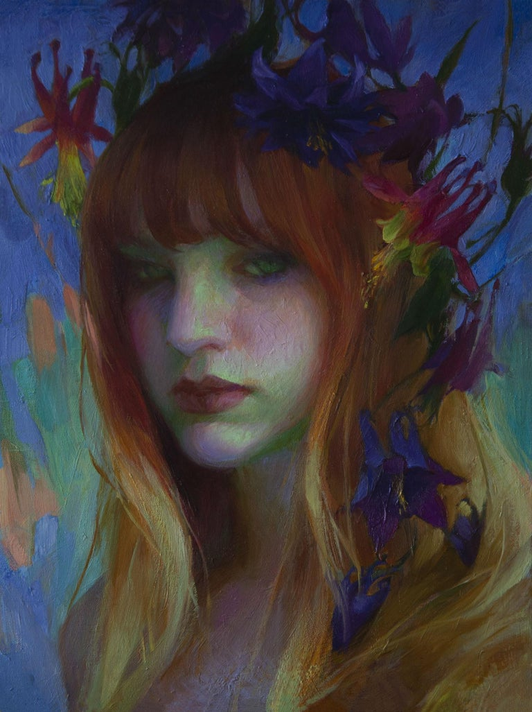 Adrienne Stein Portrait Painting - Early Spring, Oil Painting