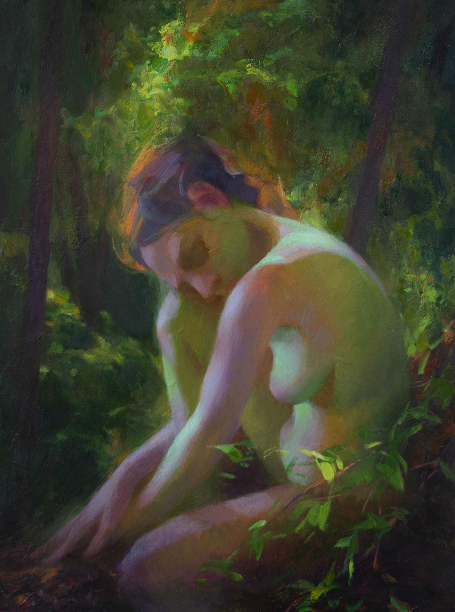 Eden, Oil Painting