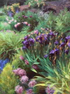 """""""Hurlingham Garden"""", Oil Painting"""