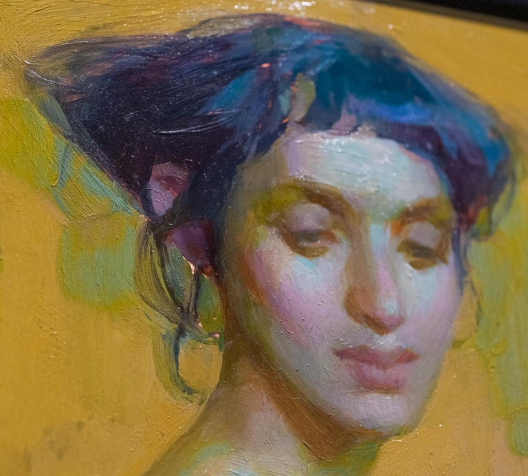 Twenty Weeks - Contemporary Painting by Adrienne Stein