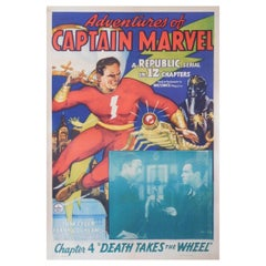 """""""Adventures of Captain Marvel"""" '1941' Poster"""