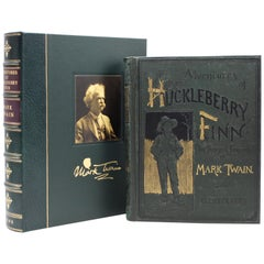 Adventures of Huckleberry Finn by Mark Twain, Incomplete First American Edition