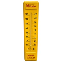 Advertising Wall Thermometer Kodak, 1980