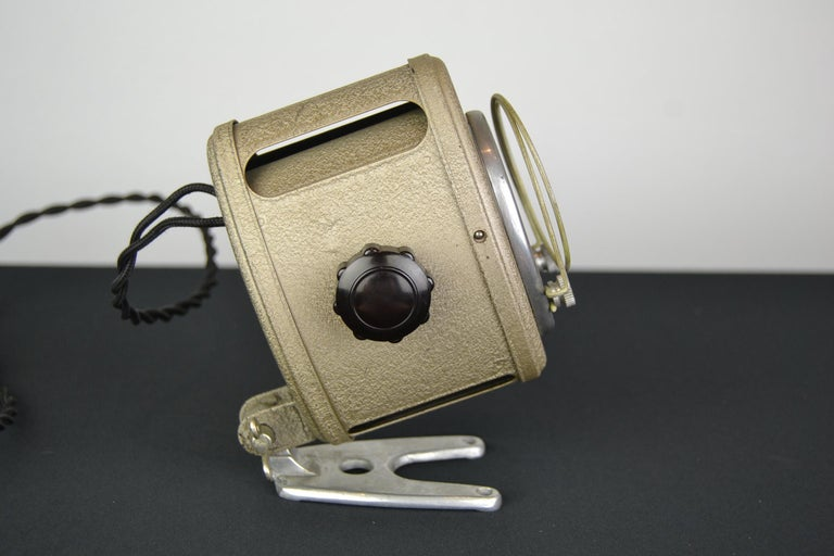 A.E Cremer Mini Baby Theater Light, Paris, France, 1950s For Sale 3