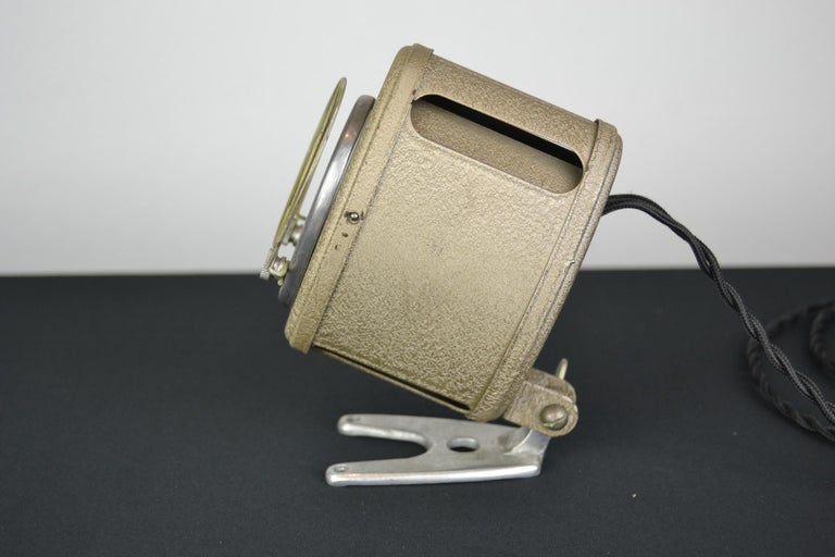 A.E Cremer Mini Baby Theater Light, Paris, France, 1950s For Sale 8
