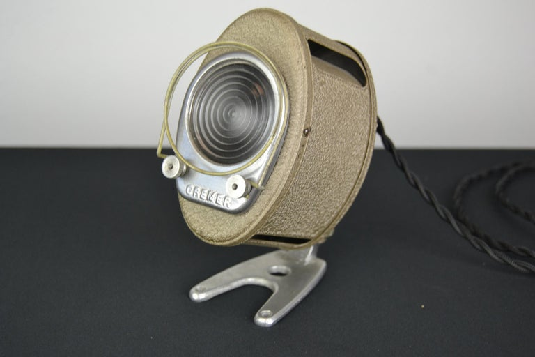 A.E Cremer Mini Baby Theater Light, Paris, France, 1950s For Sale 9
