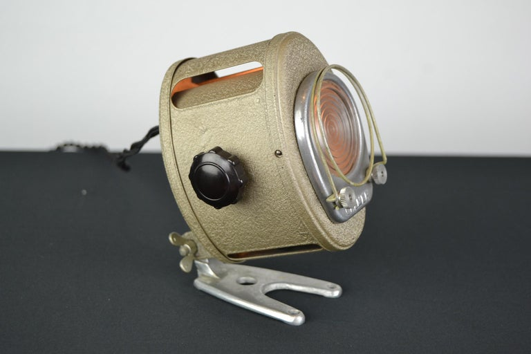 A.E Cremer Mini Baby Theater Light, Paris, France, 1950s For Sale 12