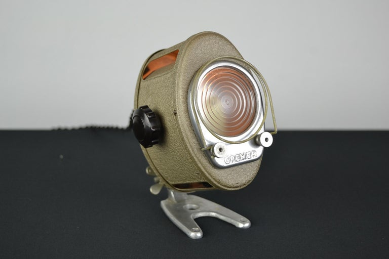 A.E Cremer Mini Baby Theater Light, Paris, France, 1950s For Sale 13