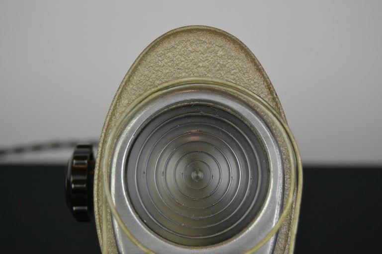 French A.E Cremer Mini Baby Theater Light, Paris, France, 1950s For Sale