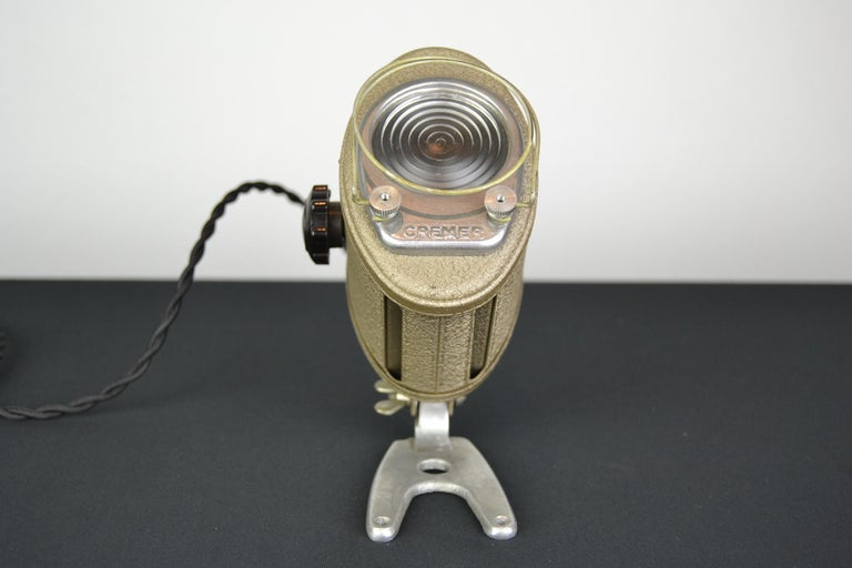 20th Century A.E Cremer Mini Baby Theater Light, Paris, France, 1950s For Sale