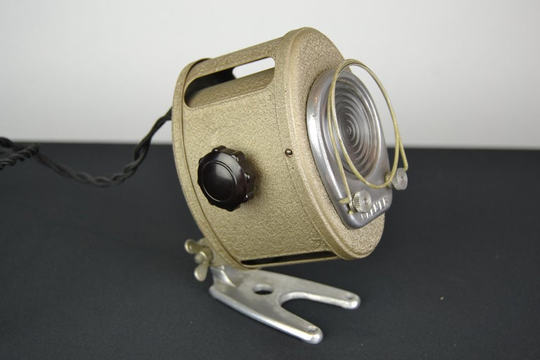 A.E Cremer Mini Baby Theater Light, Paris, France, 1950s For Sale 1