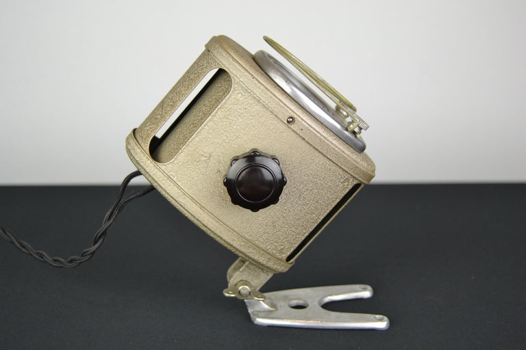 A.E Cremer Mini Baby Theater Light, Paris, France, 1950s For Sale 2