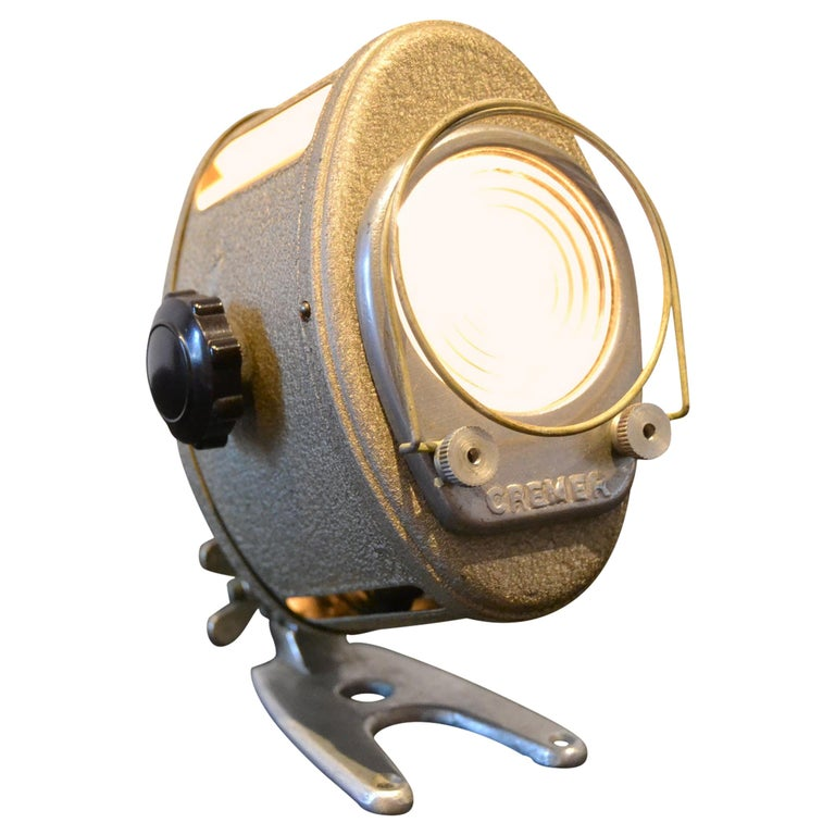 A.E Cremer Mini Baby Theater Light, Paris, France, 1950s For Sale