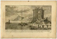 'L'orientale laso del detto Tempio […].
