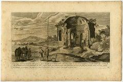 Un tempio rotondo […] Sito di Pozzuolo […].